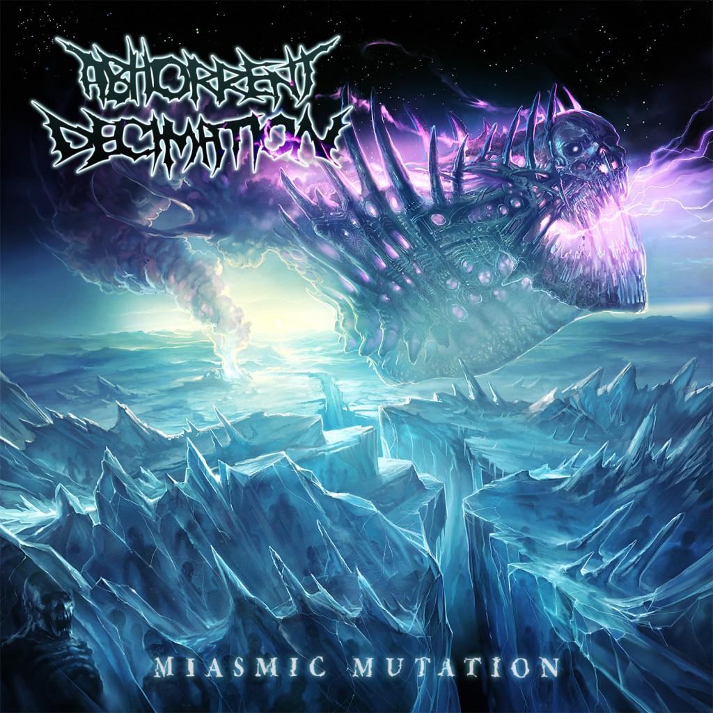 Abhorrent Decimation - Miasmic Mutation Artwork