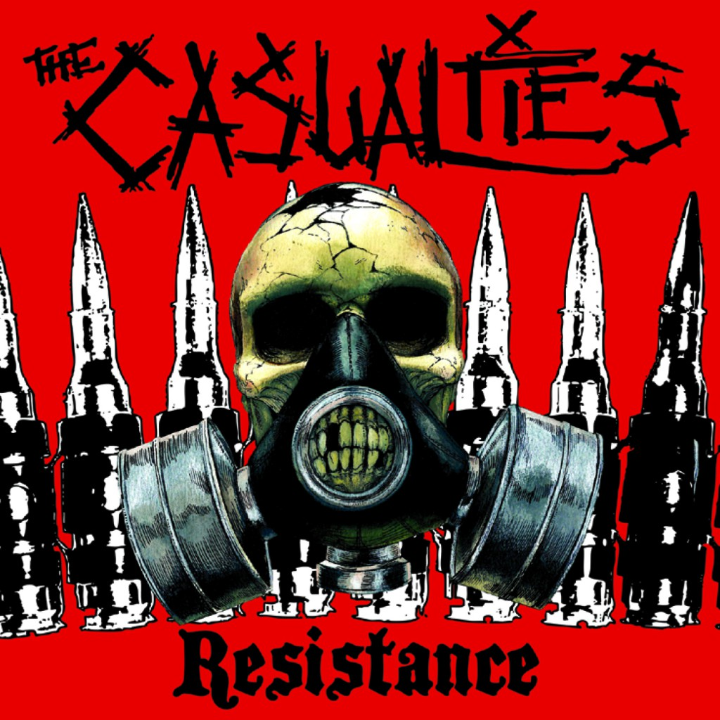The Casualties-Resistance-Cover