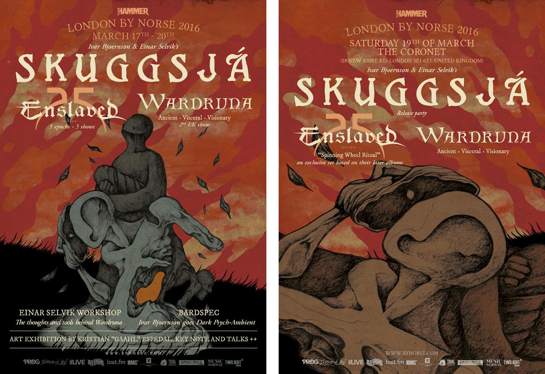 SKUGGSJA-posters