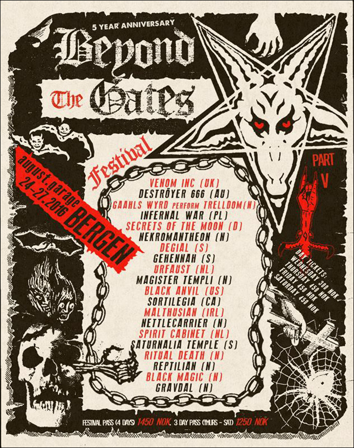 Beyond the Gates poster 2016